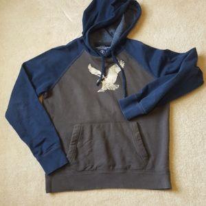 American Eagle long sleeve hoodie. Sz  S